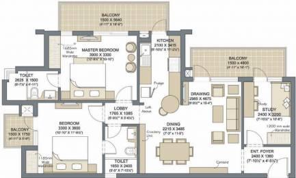 1480 sqft, 2 bhk Apartment in Microtek Greenburg Sector 86, Gurgaon at Rs. 0