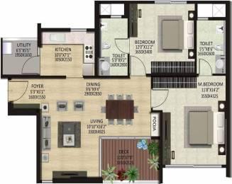 1245 sqft, 2 bhk Apartment in Shapoorji Pallonji ParkWest Chamarajpet, Bangalore at Rs. 0