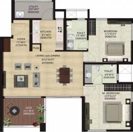 1298 sqft, 3 bhk Apartment in Shapoorji Pallonji ParkWest Chamarajpet, Bangalore at Rs. 0