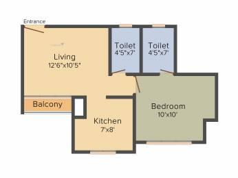 620 sqft, 1 bhk Apartment in Runwal Eirene Thane West, Mumbai at Rs. 0