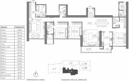 2957 sqft, 4 bhk Apartment in TATA 88 East Alipore, Kolkata at Rs. 0