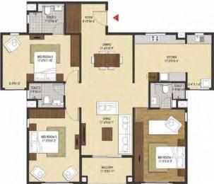 1894 sqft, 3 bhk Apartment in Brigade Xanadu Mogappair, Chennai at Rs. 0