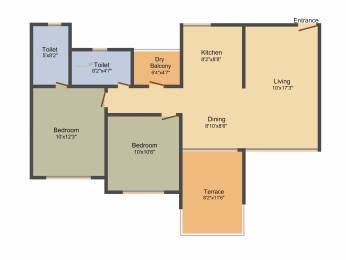 1079 sqft, 2 bhk Apartment in Kolte Patil Life Republic Hinjewadi, Pune at Rs. 0