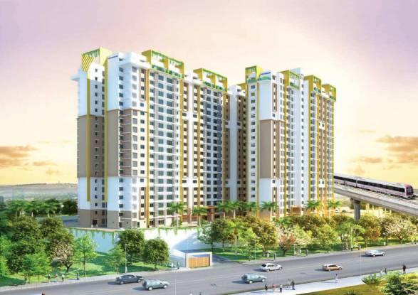 1222 sqft, 2 bhk Apartment in Purva Sunflower Rajaji Nagar, Bangalore at Rs. 97.6000 Lacs