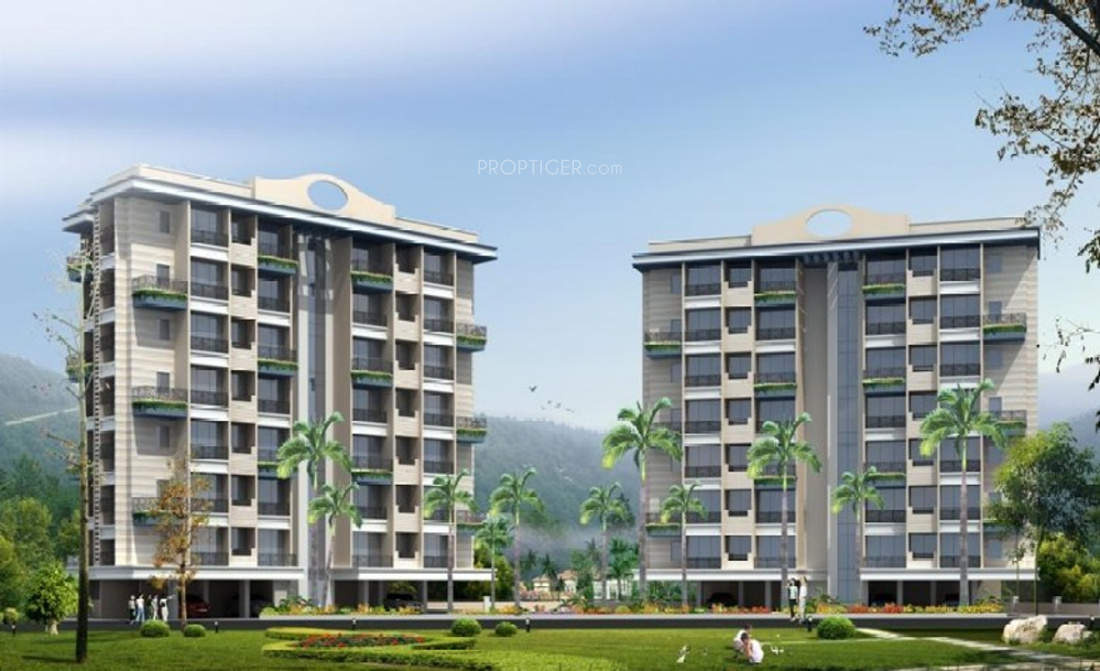 670 sq ft 1BHK 1BHK+2T (670 sq ft) Property By R R Propertiees In Siddhi City, Badlapur East