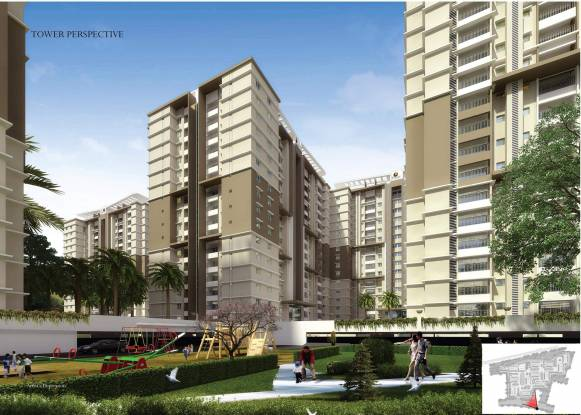 1273 sqft, 2 bhk Apartment in Prestige Royale Gardens Yelahanka, Bangalore at Rs. 55.3700 Lacs