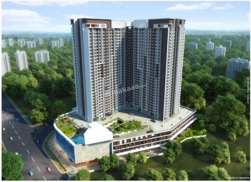 1655 sq ft 3BHK 3BHK+3T (1,655 sq ft) Property By Zenith Space Realty In Raj Torres, Thane West