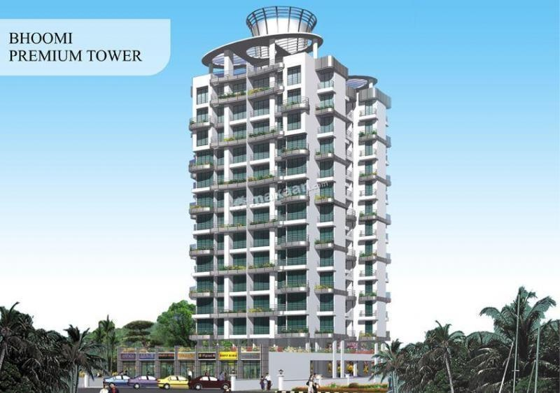 625 sq ft 1BHK 1BHK+1T (625 sq ft) Property By Bhoomi Enterprises In Bhoomi Premium Tower, Kharghar