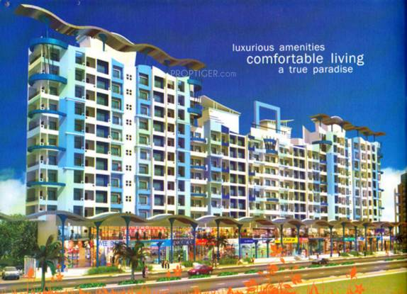 1065 sqft, 2 bhk Apartment in SDC Dev Paradise Mira Road East, Mumbai at Rs. 80.0000 Lacs