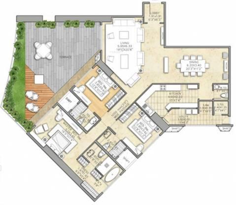 Indiabulls Sky (3BHK+5T (2,900 sq ft) Apartment 2900 sq ft)