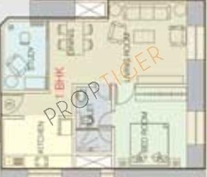 Orbit Terraces (1BHK+1T (912 sq ft) Apartment 912 sq ft)