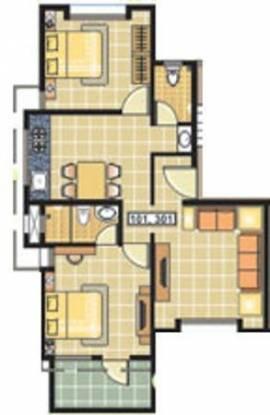 Ranjeet S S Lotus (2BHK+2T (794 sq ft) Apartment 794 sq ft)