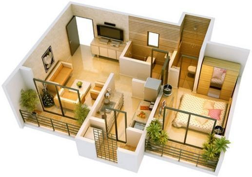 Ravi Gaurav Eden (1BHK+1T (680 sq ft) Apartment 680 sq ft)