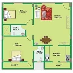 Vmaks Vachan (3BHK+3T (1,441 sq ft) Apartment 1441 sq ft)