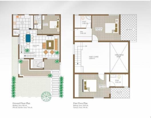 Square Opal Akshaya (3BHK+3T (2,650 sq ft)   Pooja Room Villa 2650 sq ft)
