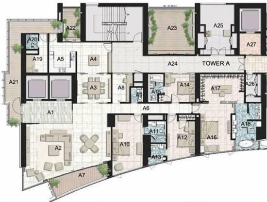 Ahuja Tower (4BHK+4T (6,000 sq ft) Apartment 6000 sq ft)