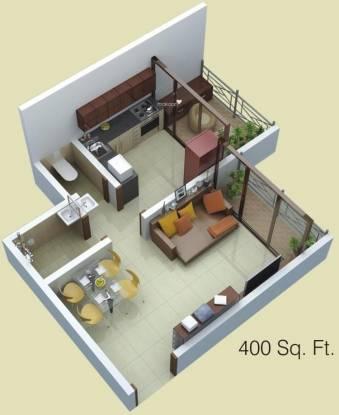 Siddhitech Siddhi City (1BHK+1T (400 sq ft) Apartment 400 sq ft)