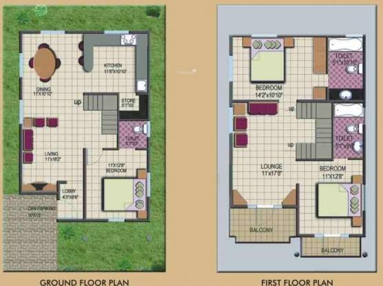 Apna Apna Aangan (3BHK+3T (1,950 sq ft) Villa 1950 sq ft)