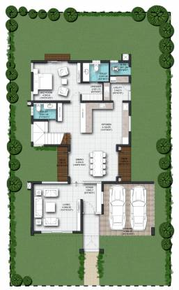Nambiar Bellezea (4BHK+5T (3,514 sq ft) + Pooja Room Villa 3514 sq ft)