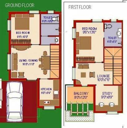 Agni Fairy Land (2BHK+2T (1,315 sq ft)   Study Room Villa 1315 sq ft)