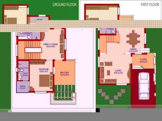Agni Fairy Land (3BHK+3T (1,500 sq ft) Villa 1500 sq ft)