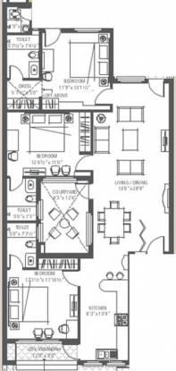 Emaar The Terraces Villa Floors (3BHK+3T (1,750 sq ft) Apartment 1750 sq ft)