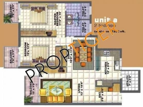 Bren Verity (2BHK+2T (1,353 sq ft) Apartment 1353 sq ft)