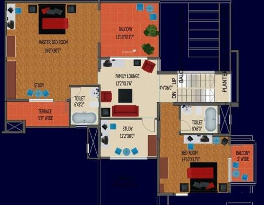 DivyaSree Elan (2BHK+2T (855 sq ft) Apartment 855 sq ft)