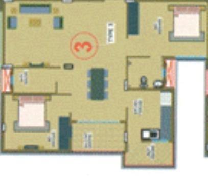 Winning JC Serene (2BHK+2T (1,014 sq ft) Apartment 1014 sq ft)