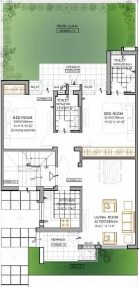 Vatika Emilia Floors (2BHK+2T (903 sq ft) Apartment 903 sq ft)