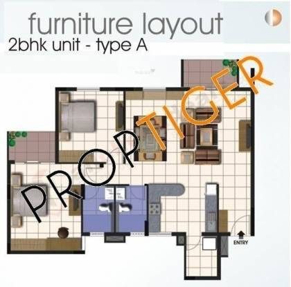 Bren Equinox (2BHK+2T (1,350 sq ft) Apartment 1350 sq ft)