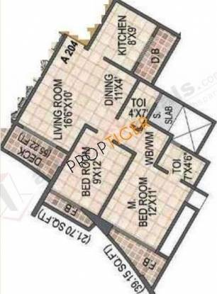 Arihant Housing Aradhana Arihant Housing Aradhana (2BHK+2T)