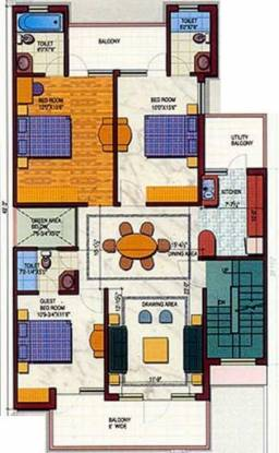 Today Homes Blossoms II (3BHK+3T (1,175 sq ft) Apartment 1175 sq ft)