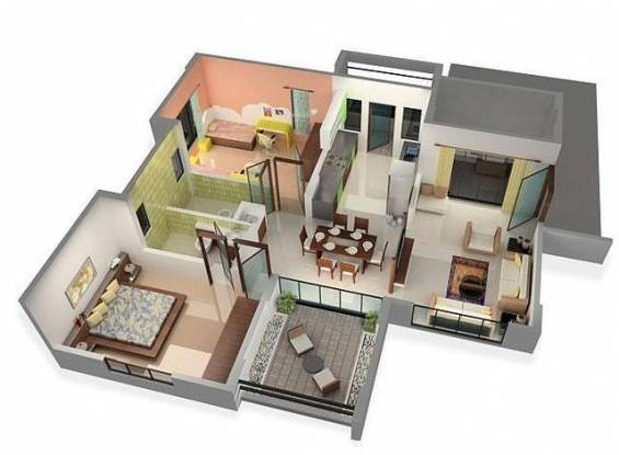 Avalon Elysium (2BHK+2T (1,205 sq ft) Apartment 1205 sq ft)