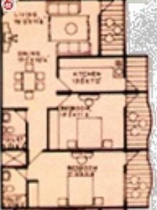 Ansal Krsna II (2BHK+2T (1,210 sq ft) Apartment 1210 sq ft)