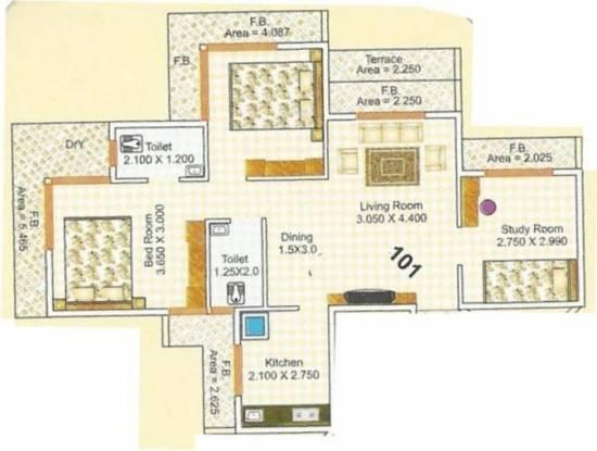 Someshwar Builders Residency Someshwar Builders Residency (2BHK+2T + Study Room)
