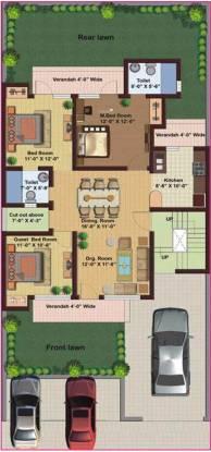 M2K Spring Floors (3BHK+2T (1,500 sq ft) Apartment 1500 sq ft)