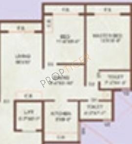 Prajapati Gaurav (2BHK+2T (1,035 sq ft) Apartment 1035 sq ft)