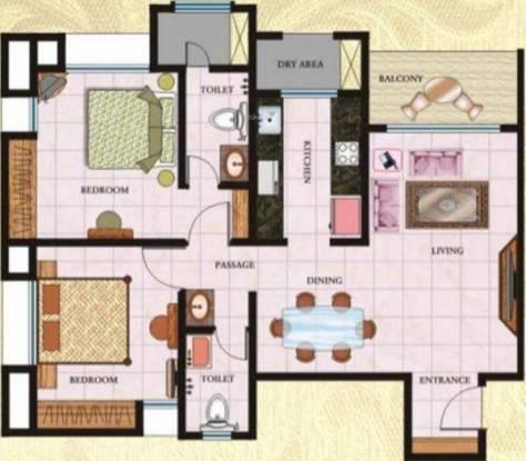 Regency Regency Towers (2BHK+2T (1,150 sq ft) Apartment 1150 sq ft)