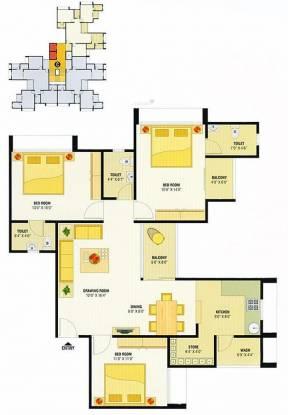 Devnandan Devnandan Sky (3BHK+3T (1,305 sq ft) Apartment 1305 sq ft)