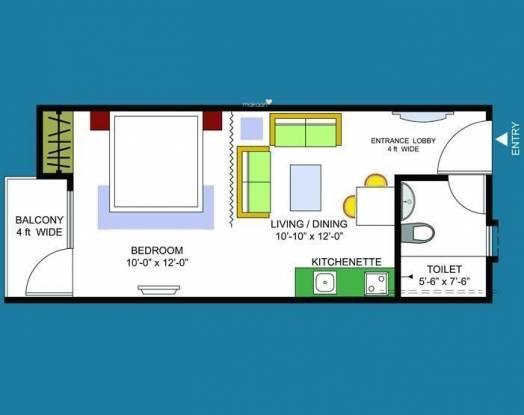 Dasnac Designarch e Homes (1BHK+1T (550 sq ft) Apartment 550 sq ft)
