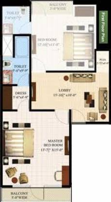 CGHS Triveni Apartment (2BHK+2T (1,160 sq ft) Apartment 1160 sq ft)
