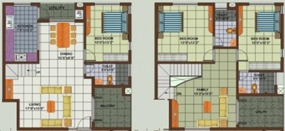 Astro Silverwood Regency (3BHK+3T (2,011 sq ft) Apartment 2011 sq ft)