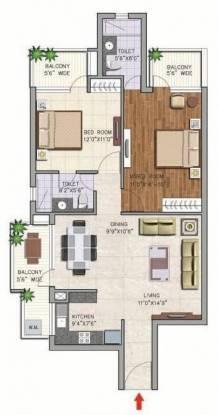 Corona Gracieux (2BHK+2T (1,325 sq ft) Apartment 1325 sq ft)