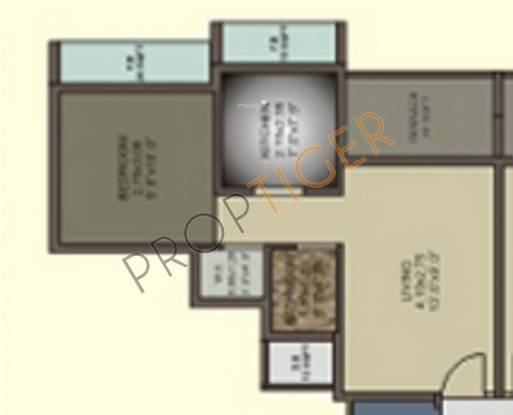 Shining Shining Marble Arch (1BHK+1T (625 sq ft) Apartment 625 sq ft)