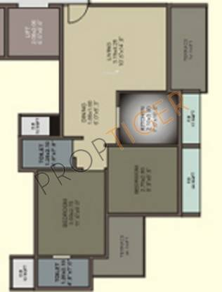 Shining Shining Marble Arch (2BHK+2T (1,000 sq ft) Apartment 1000 sq ft)