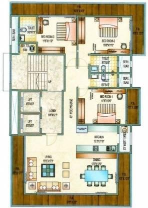 Morya Moheni (3BHK+3T (2,250 sq ft) Apartment 2250 sq ft)