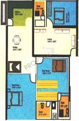 Nishitas Savitha Residency Nishitas Savitha Residency (3BHK+3T)