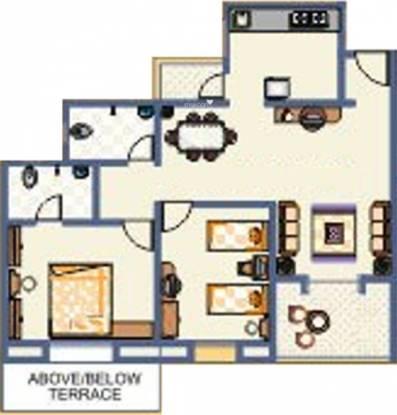 Vaishnavi Sahil Heights (2BHK+2T (1,036 sq ft) Apartment 1036 sq ft)