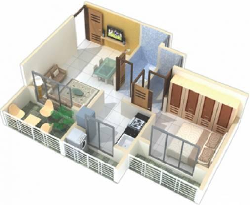 Devkrupa Dev Drishti (1BHK+1T (640 sq ft) Apartment 640 sq ft)